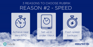 Speed with Rubrik