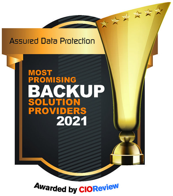 Assured Data Protection Ranked Among 'Most Promising Back-up Solutions Providers' of 2021